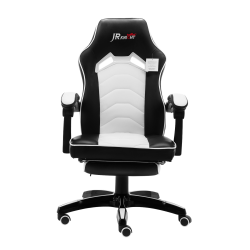 Ergonomic Home Office Gaming Chair with Footrest Adjustable Height [ZKLC-02]