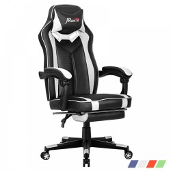 Ergonomic Home Office Gaming Chair with Footrest Adjustable Height [ZKOC-01]
