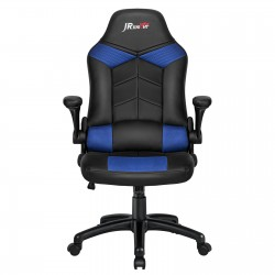 Ergonomic Home Office Gaming Chair with Adjustable Height Rocking Function[ZKOC-03BKBL]