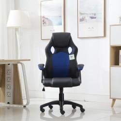 JL Comfurni Racing Gaming Chair/ Computer Chair/Mesh Office Desk Chair - Blue(A05BL)