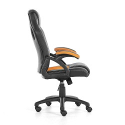 JL Comfurni Racing Gaming Chair/ Computer Chair/Mesh Office Chair - Orange(A05OR)