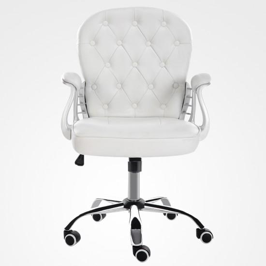 PU Leather - White