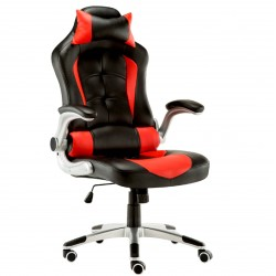 JL Comfurni Racing Gaming Chair/ Computer Chair/ PU Leather Office Chair