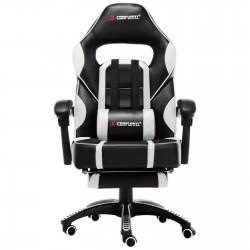 Gaming Office Chair With Footrest/Computer Chairs/ Swivel Leather Desk Chair [A10]