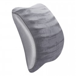 JL Comfurni |Lumbar Pillows Back Support Cushions Memory Foam Pillow with Breathable Mesh Cover for Office Chair, Car and Bed