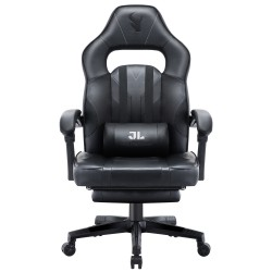 HALO Series Black | Gaming Office Gaming Chair/Footrest Chair/ Office Computer Desk Chair