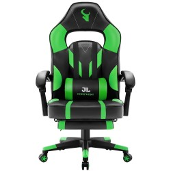 HALO Series Green | Gaming Office Gaming Chair/Footrest Chair/ Office Computer Desk Chair