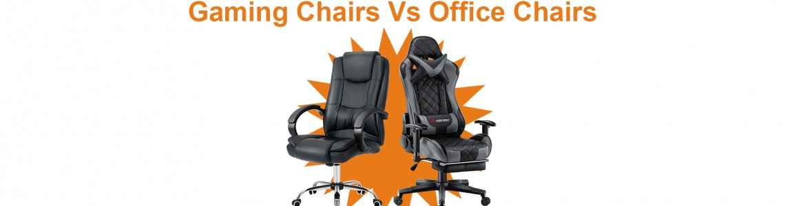 Gaming Chairs VS Office Chairs How to select