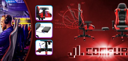 JL Comfurni Gaming Chairs is really good for your back and posture?