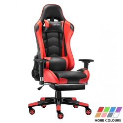 Classic Series | Gaming Chair with Footrest/Computer Chair