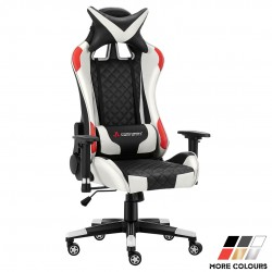 JL Comfurni | Athena Argyle Series | Gaming Chair/Computer Chairs/ Swivel Leather Desk Chair [V2]