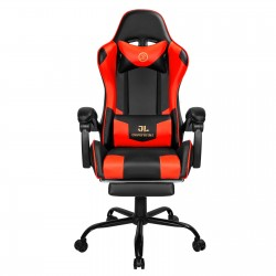 Constellation Series Red | Gaming Chair with Footrest/Computer Chairs/ Swivel Leather Desk Chair