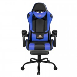 Constellation Series Blue | Gaming Chair with Footrest/Computer Chairs/ Swivel Leather Desk Chair