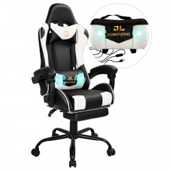 Constellation Series | Gaming Office Chair with Massage Lumbar Pillow