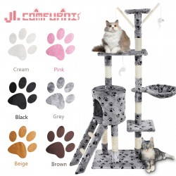 Cat Tree Climbing Tower Sisal Scratching Post - 50*35*138cm