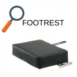 JL Comfurni Gaming Chair Footrest/PU Leather Adjustable Foot Pad [GC-JDBK]