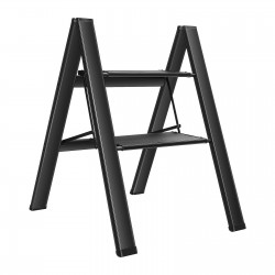 2/3/4 Aluminum Step Ladder | Folding Stepladders with Anti-Slip Wide Pedal 150KG Capacity