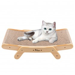 Cat Scratching Post Cat Bed Scratching Board Cardboard for Grinding Claws
