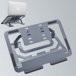 2-in-1 Laptop Stand, Aviation Aluminum Notebook Tablet Computer Bracket Stand