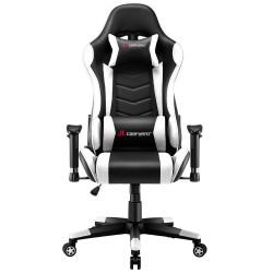 JL Comfurni | Narkissos Series | Gaming /Computer Chairs/ Swivel Desk Chair [ND2-BKWT]