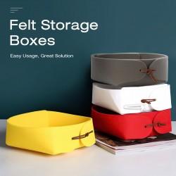 Home Folding Felt Storage baskets Closet Organizer Toy Book Storage Boxes