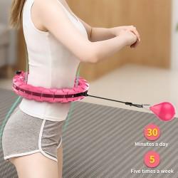 Smart Hula Wont fall Lose Weight Exercise Detachable Portable Hoola Hoop UK
