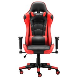 JL Comfurni | Classic Red | Gaming Chair/Computer Chairs/ Swivel Leather Desk Chair [S02]