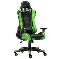 JL Comfurni | Classic Green | Gaming Chair/Computer Chairs/ Swivel Leather Desk Chair [S03]