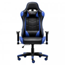 JL Comfurni | Classic Blue | Gaming Chair/Computer Chairs/ Swivel Leather Desk Chair [S04]