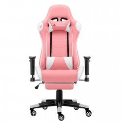 Classic Pink | Gaming Chair/Computer Chairs/ With Footrest