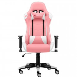 JL Comfurni | Classic Pink | Gaming Chair/Computer Chairs/ Swivel Leather Desk Chair [S08]