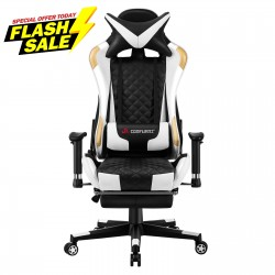 Athena Argyle Series | Gaming Chair with footrest /Computer Chairs/ Swivel Leather Desk Chair