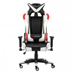 JL Comfurni | Athena Argyle Series | Gaming Chair/Computer Chairs/ Swivel Leather Desk Chair [V2-WTRD]
