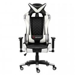 JL Comfurni | Athena Argyle Series | Gaming Chair/Computer Chairs/ Swivel Leather Desk Chair [V2-WTSL]