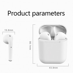 Wireless Bluetooth V5.0 Earphones in Ear with Charing Case Touch Control Waterproof(inpods12)