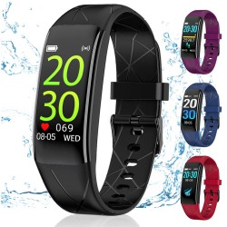 Undated 2020 Version High-End Smart Watch / 24-Hour Heart Rate / IP67 Watherproof / Multi-sports [WRIST BAND WB11]