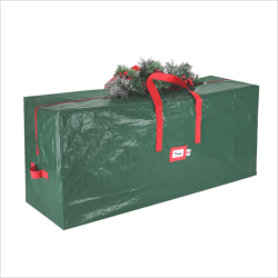 Large Home Christmas Xmas Tree Decorations Storage Bag Zip Up Sack Holder